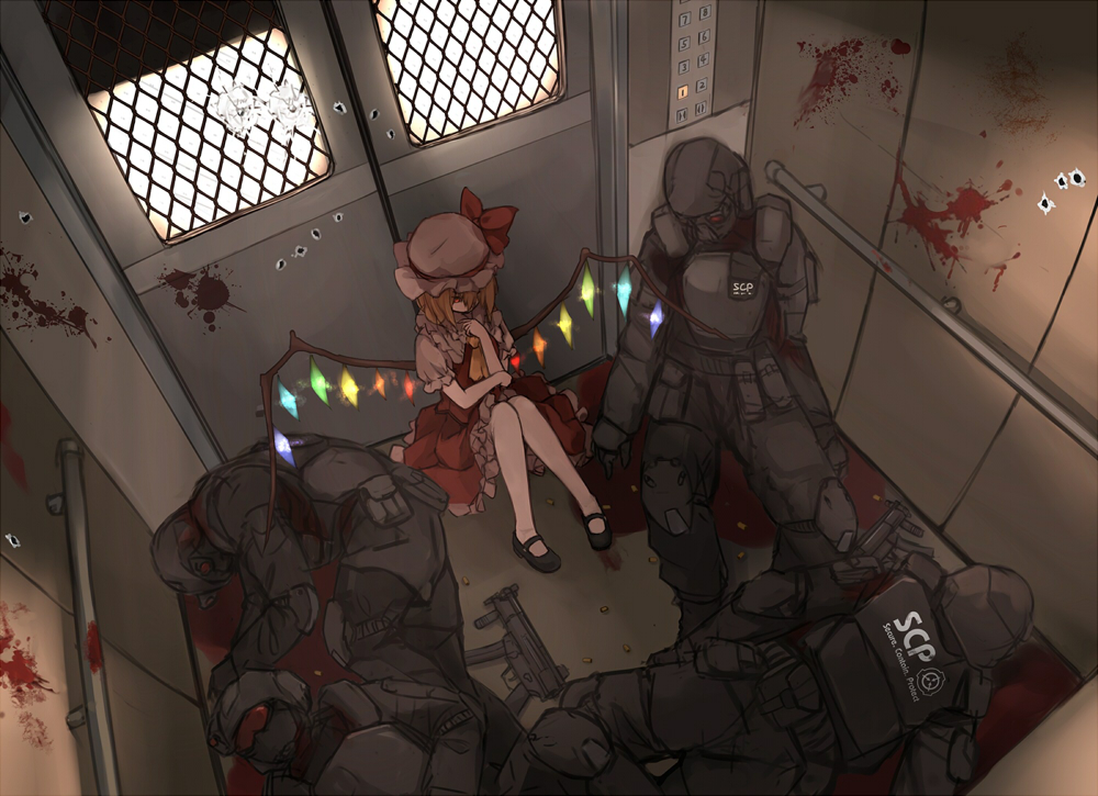 Cool touhou scp crossover scp for Scp foundation ita