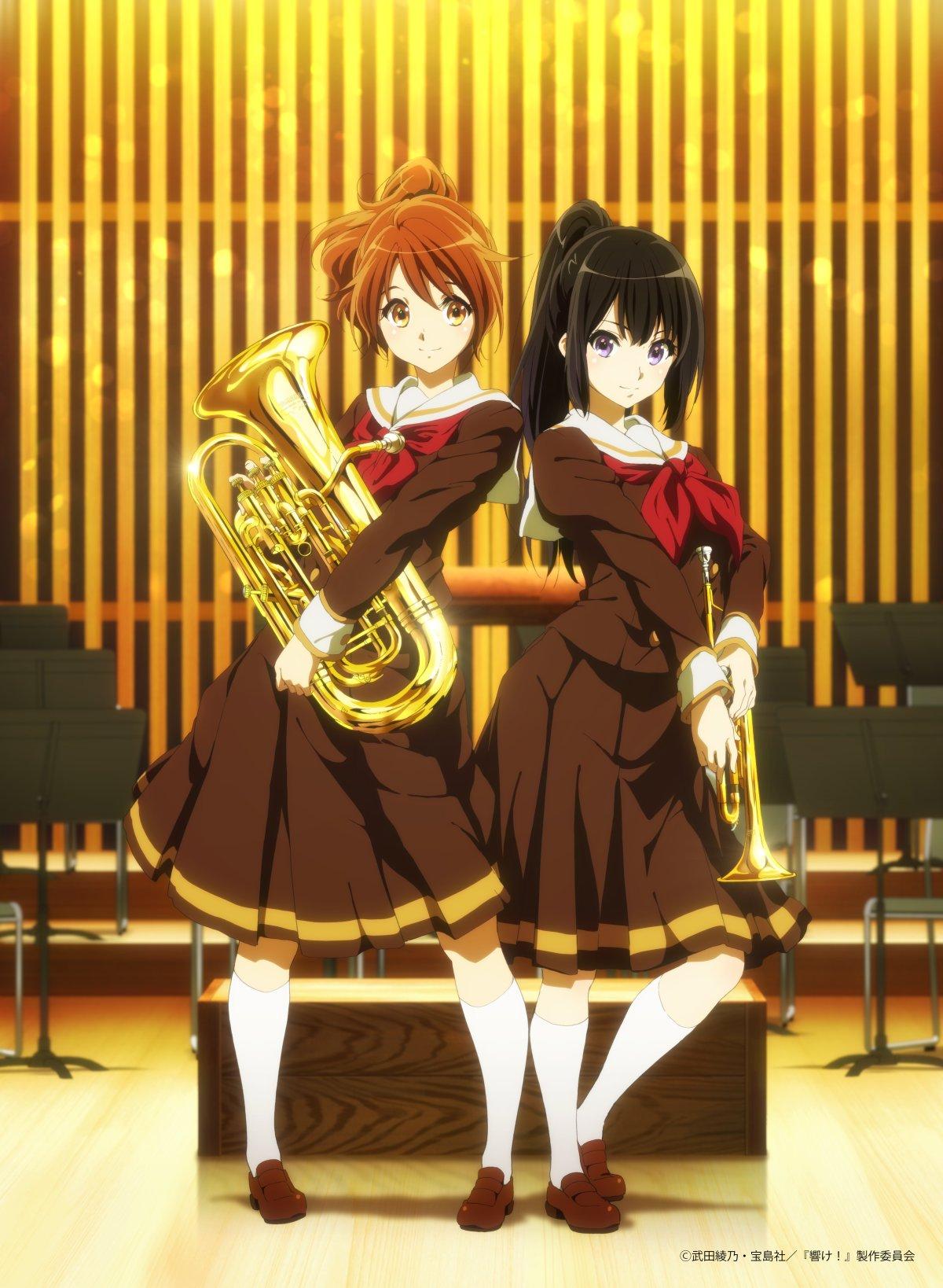 Kumiko and Reina [Hibike! Euphonium]