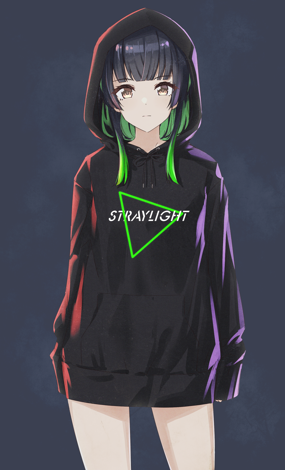 Long hoodie [The Idolmaster: Shiny Colors]