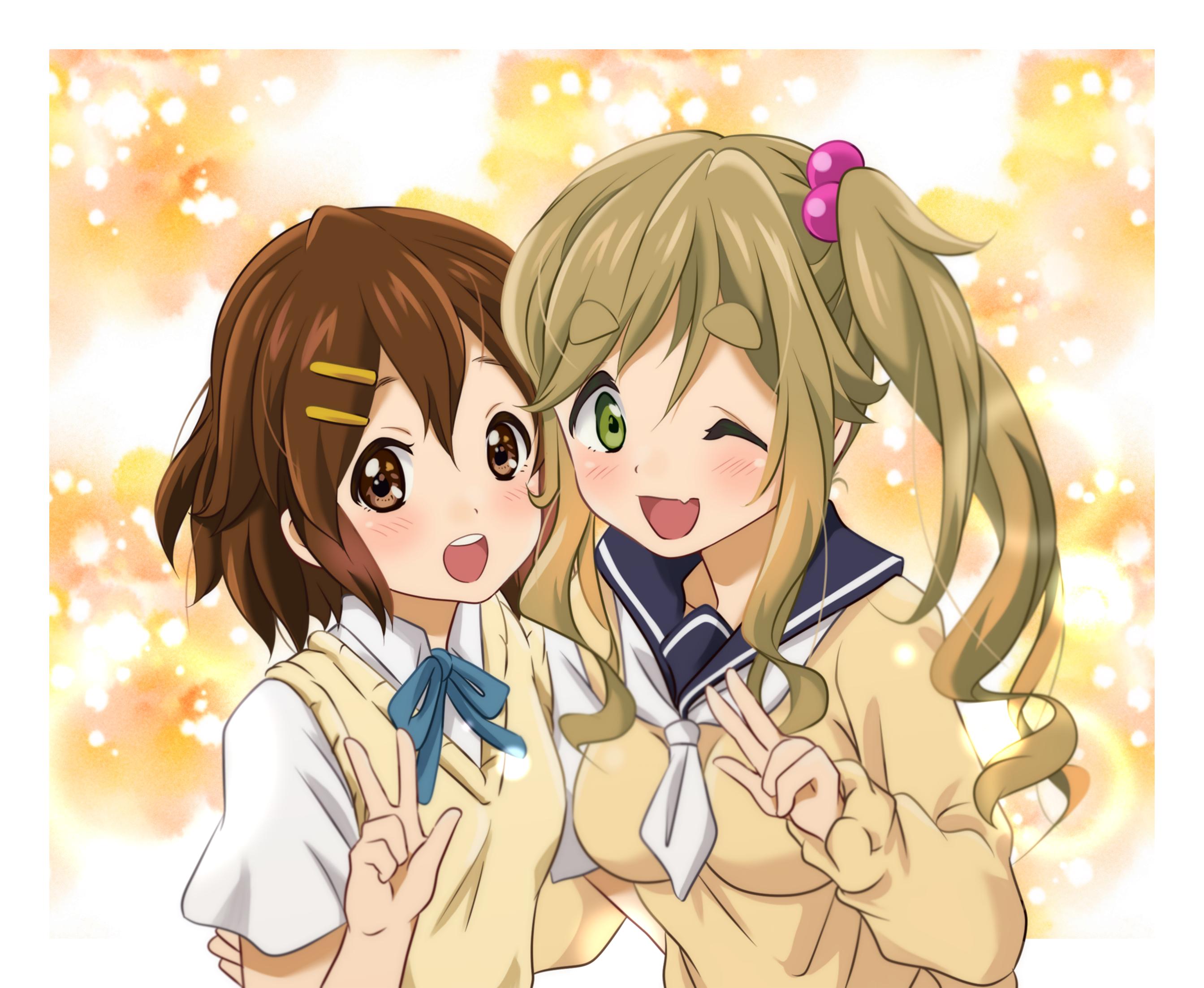The Toyosaki Aki connection. [K-On!/YuruCamp△]