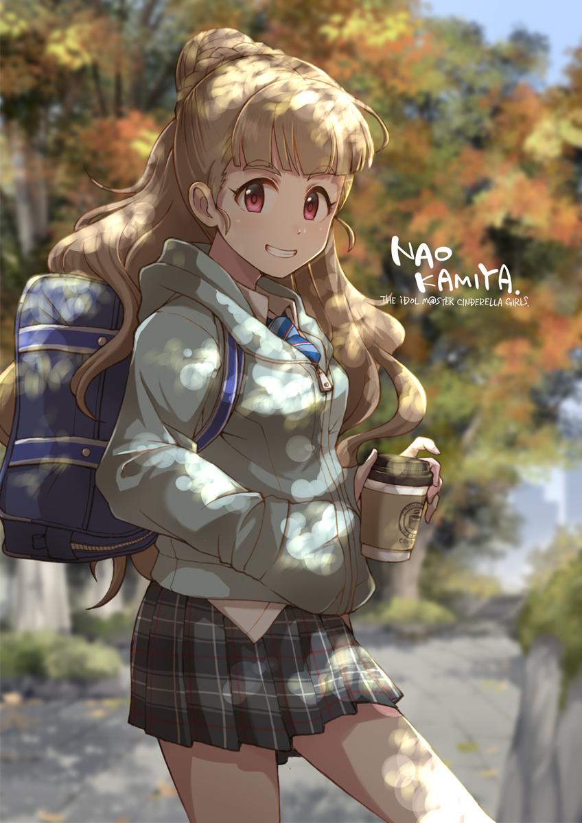 Ready for an autumn walk. [Idolmaster Cinderella Girls]