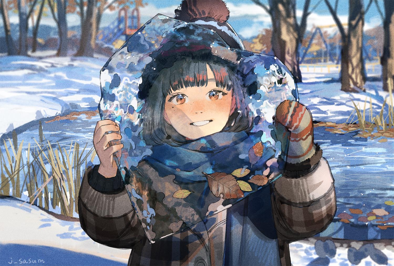 Feelings of winter. [Original]