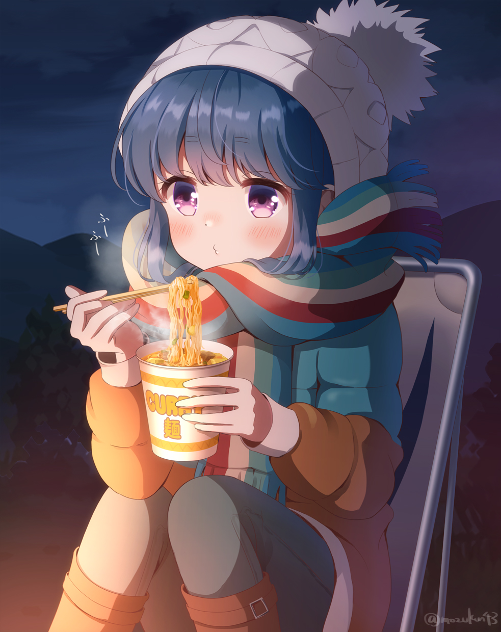 Curry ramen. [YuruCamp△]