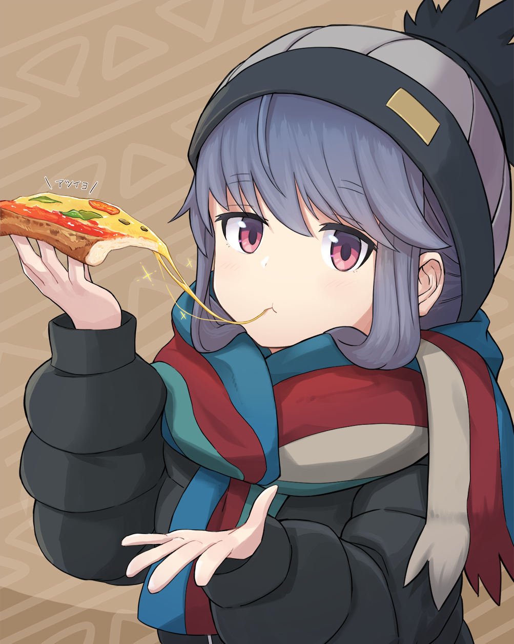 There's always room for pizza...? [YuruCamp△]