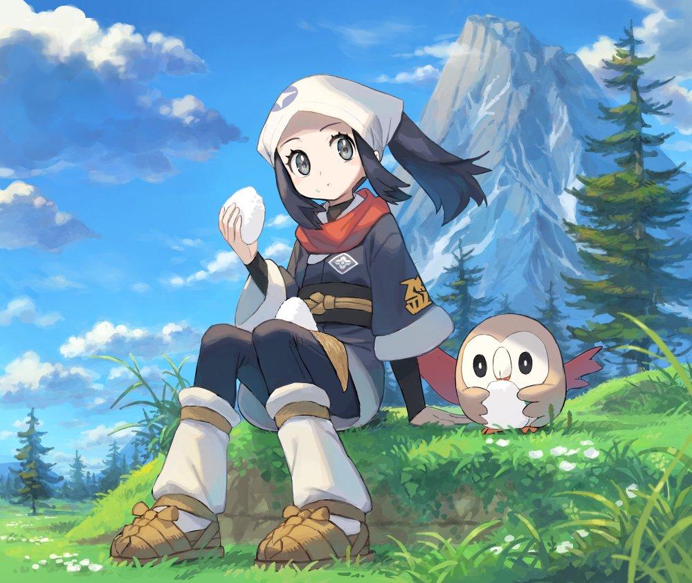 Sharing a Snack [Pokemon Legends: Arceus]