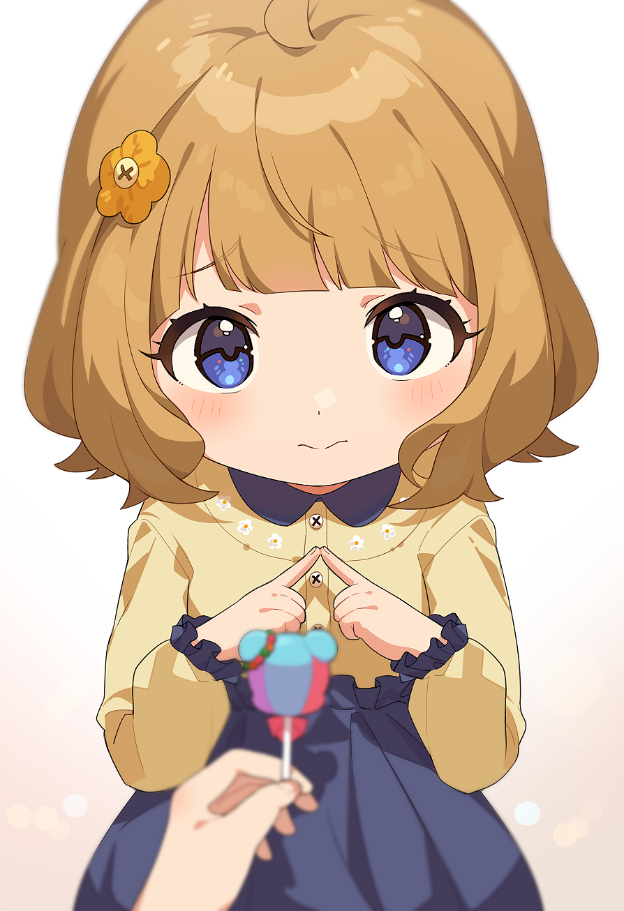 Will you give your lollipop to Momoko? 👉👈 [The iDOLM@STER: Million Live!]