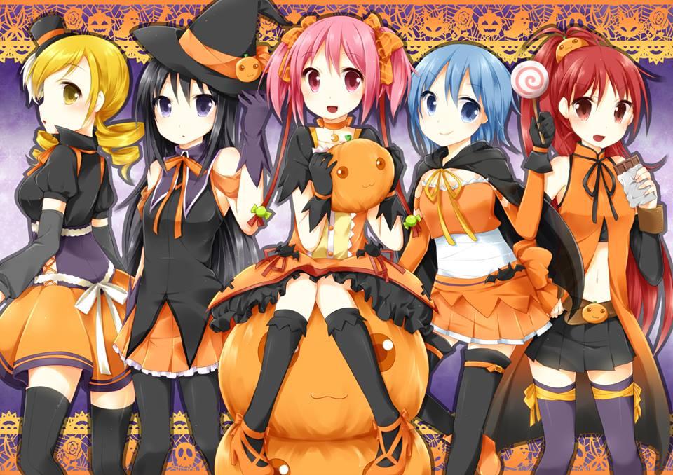 Halloween Outfits [Madoka Magica]