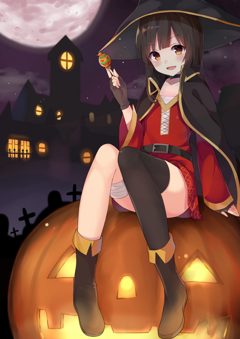 Megumin and pumpkin [KonoSuba]