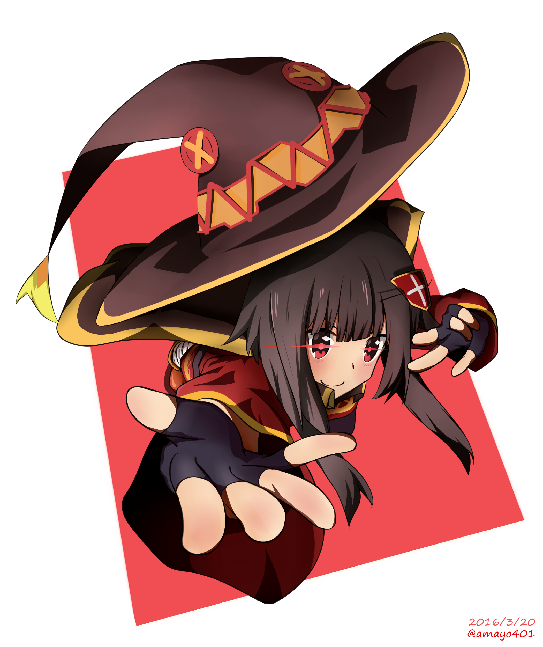 Would you go adventure with Megumin? [KonoSuba] (x-post /r/Megumin)