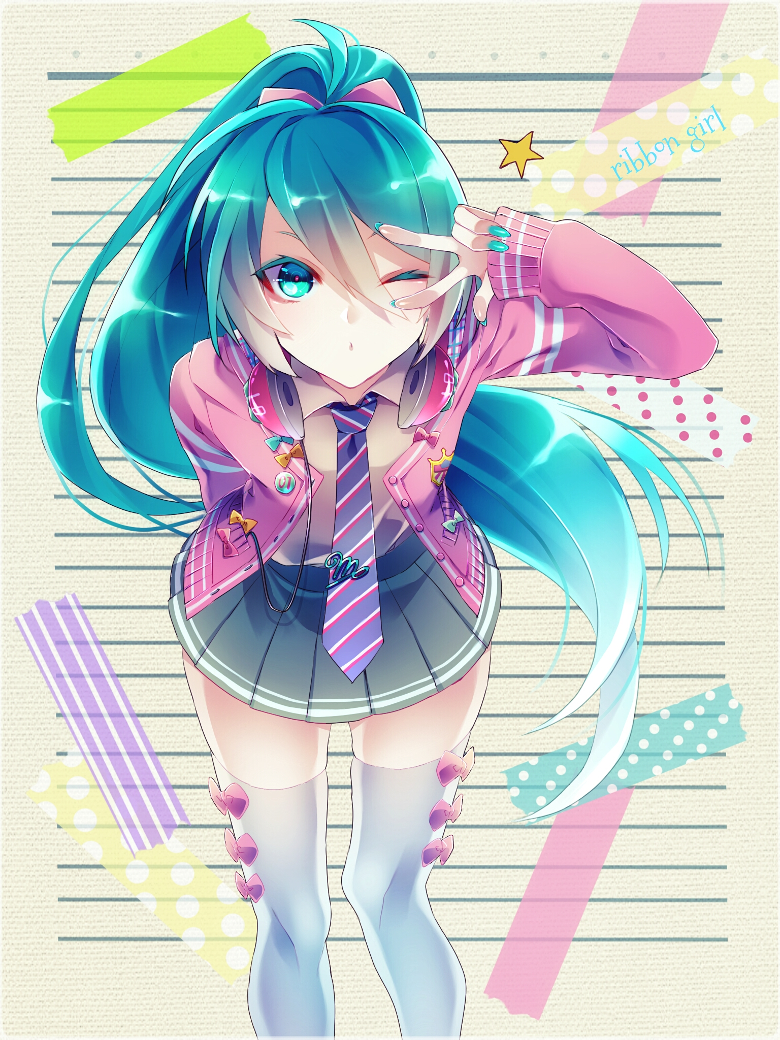 Ribbon Girl [Hatsune Miku, Vocaloid]