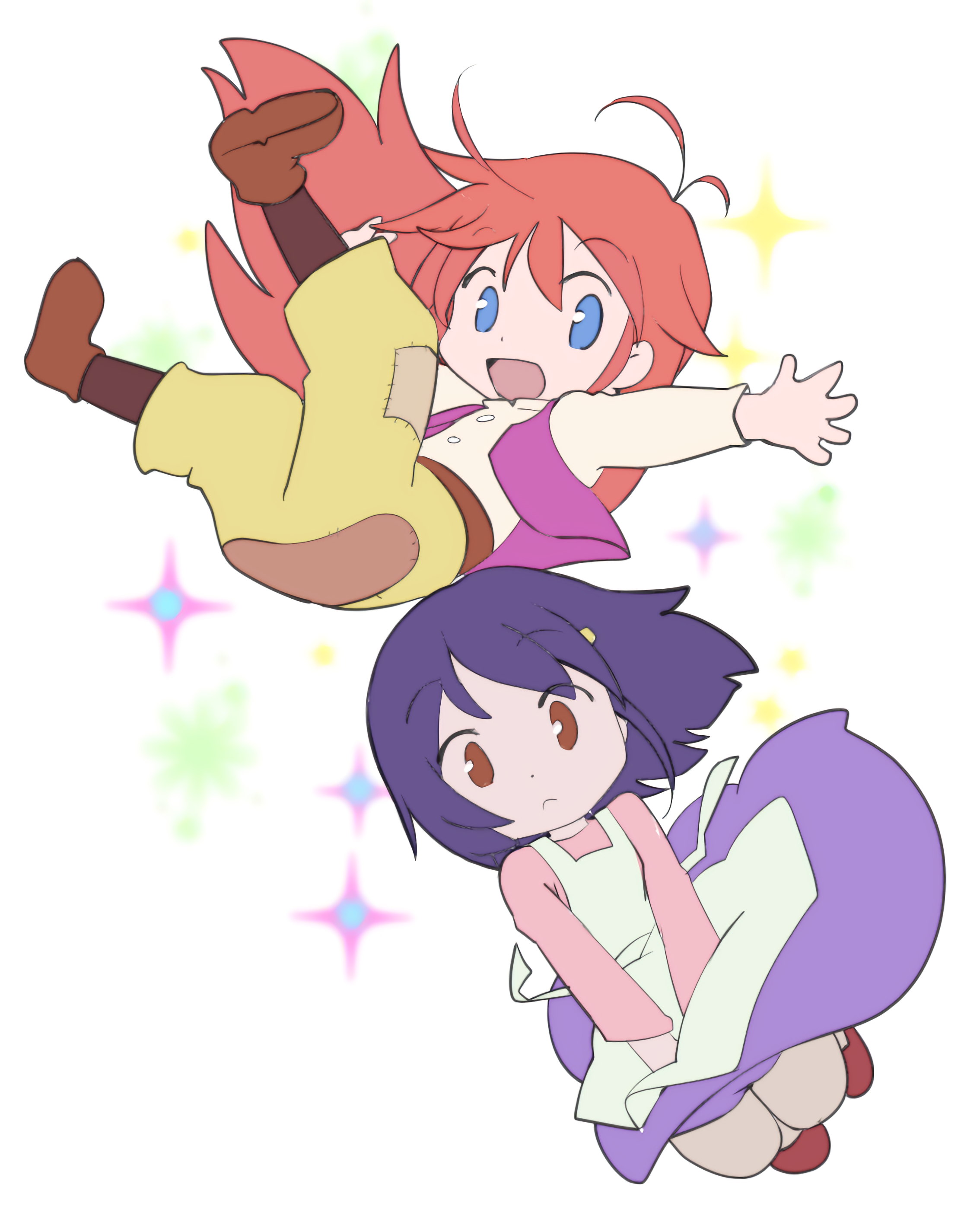 The cutest! [Flip Flappers]