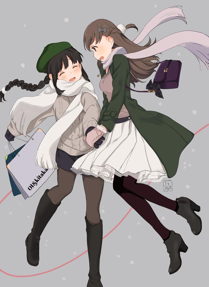 I love winter fashion. [Kantai Collection]