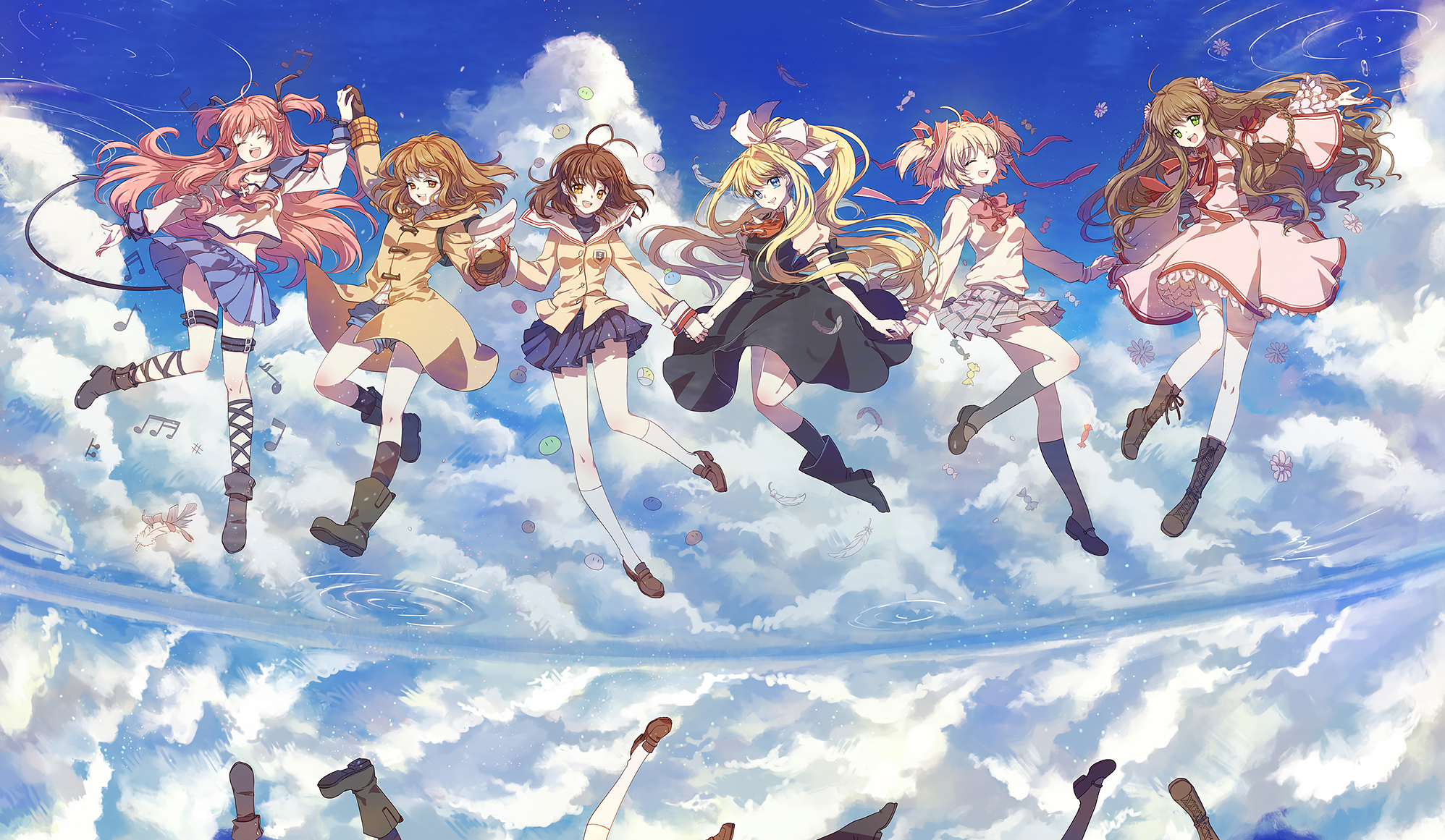 Key girls![Angel Beats!/Kanon/Clannad/Air/Little Busters
